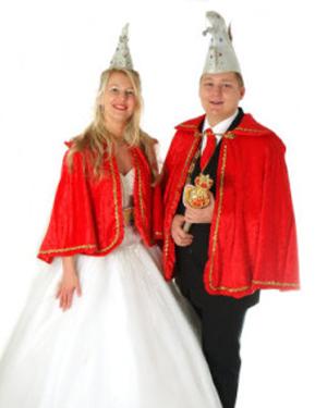 Prinz Michael II. Chaosschalk von Kulinarien und Prinzessin Sabine II. Süße Tanzbiene vom world wide web
