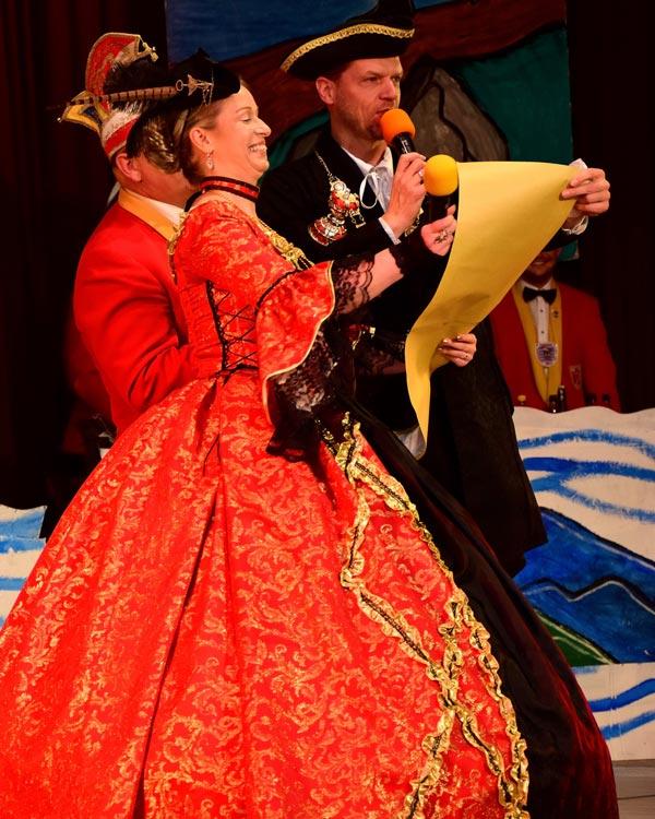 Graf Michael IV. und Gräfin Elke I.