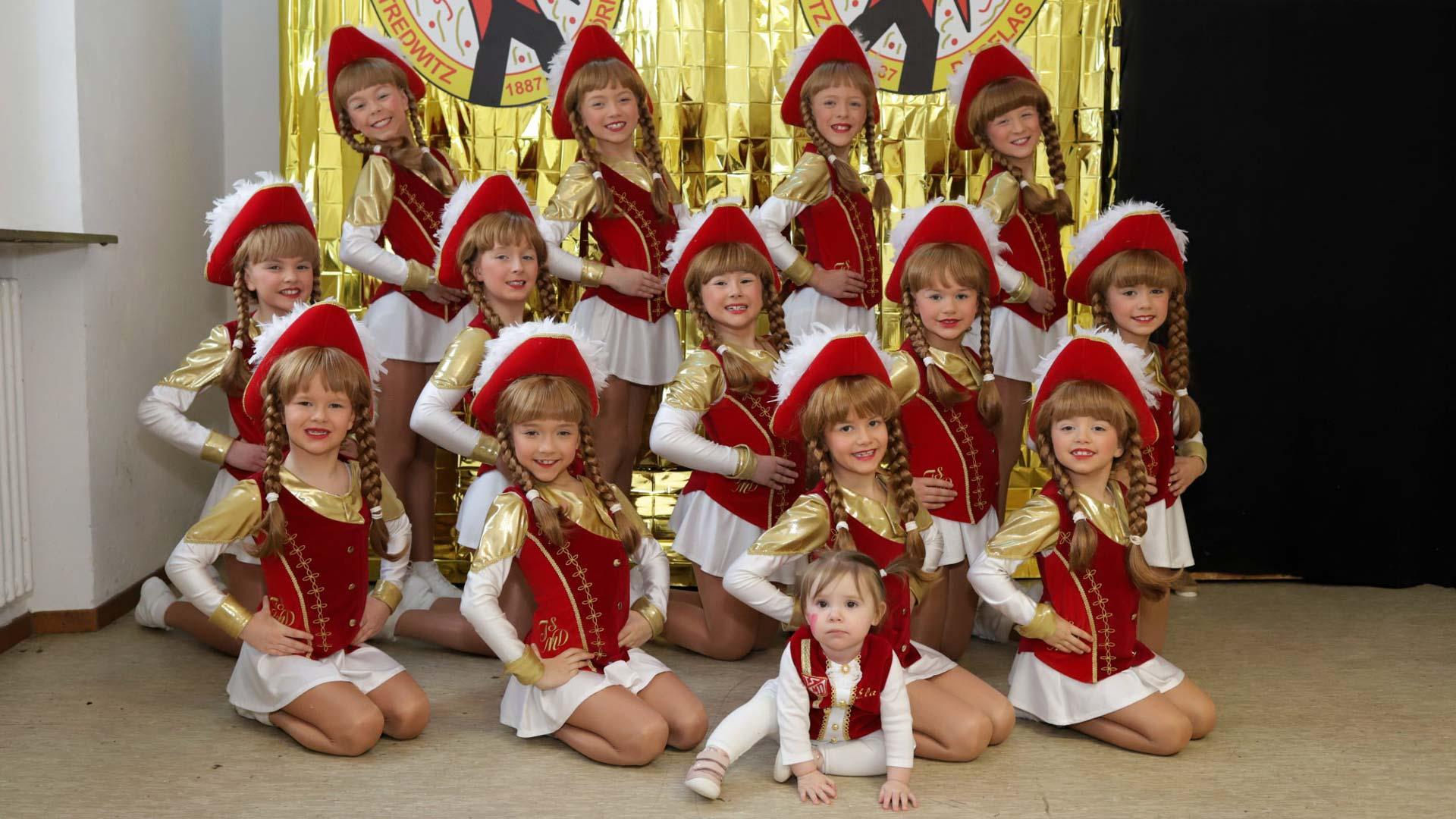 Der Gardetanz der Kindergarde