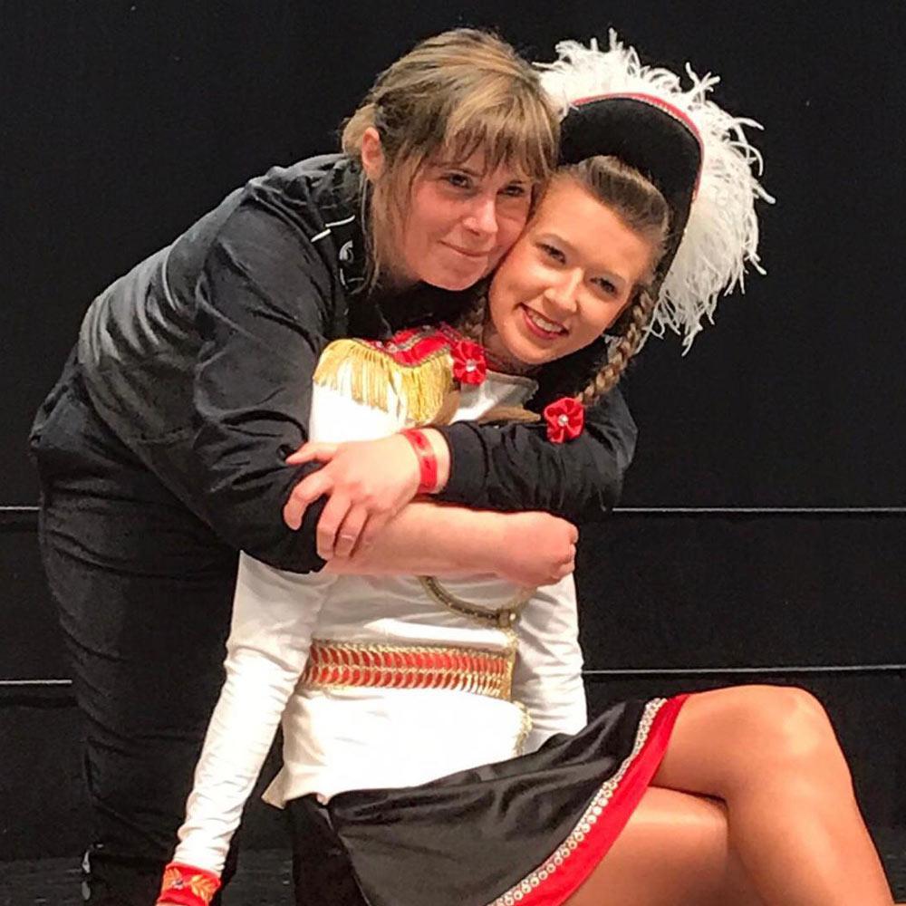 Ü-15-Tanzmariechen Lena Meyer