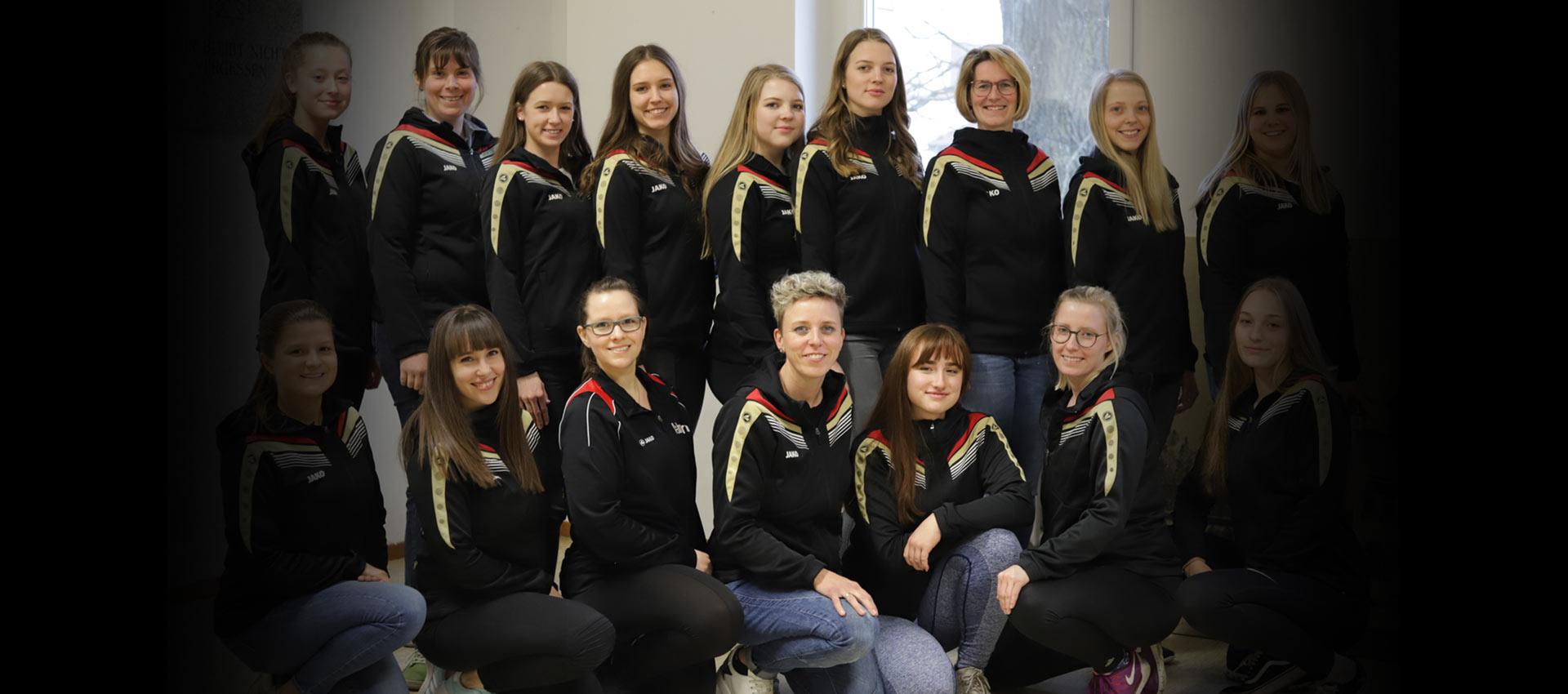 Das Trainerteam der Faschingsgilde