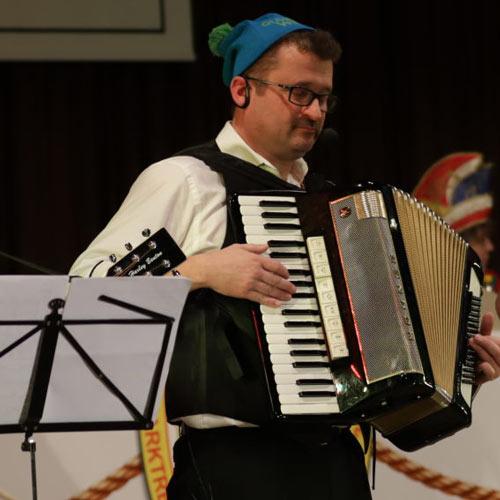 Reinhard Plobner bei den Gildesingers